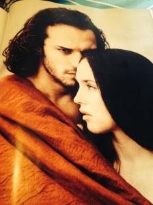 Picture from Vanity Fair France - Isabelle Adjani and Vincent Perez in La Reine Margot