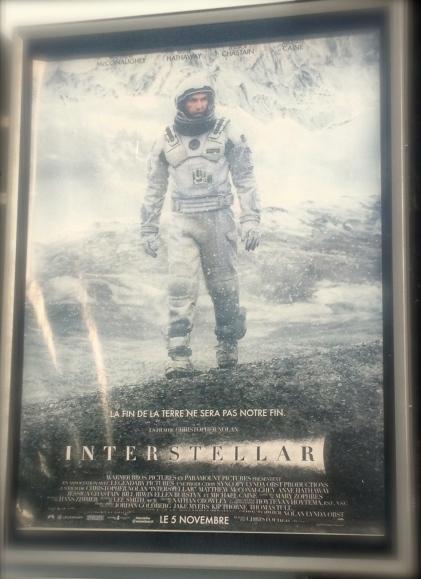 Interstellar Promo Poster - Sainte Maxime
