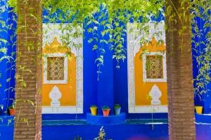 Majorelle Gardens, Marrakech, Morocco, by travel photographer Matthew Williams-Ellis