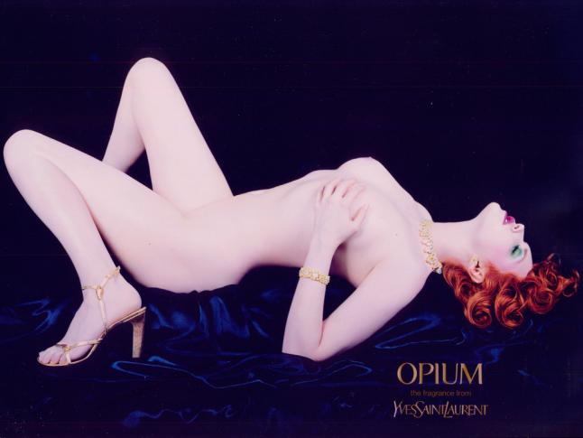 opium sophie dahl