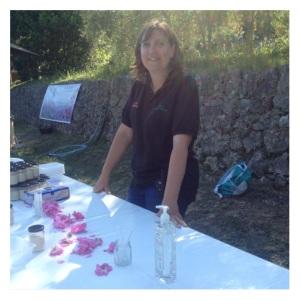 au pays making rose sugar
