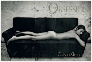 Kate Moss Calvin Klein Obsession Edit