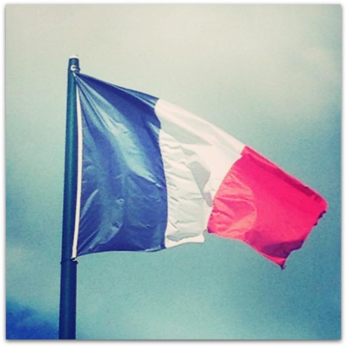 French Flag Megan In Sainte Maxime