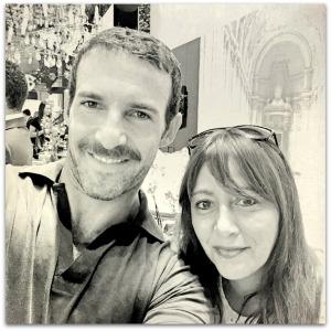 Carlos Huber and Megan In Sainte Maxime
