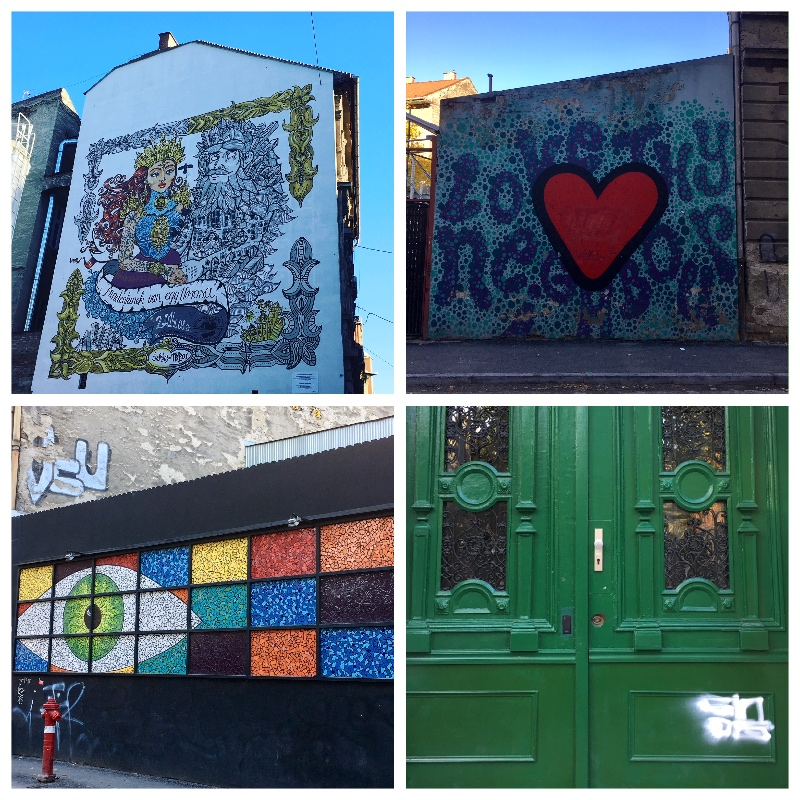 Budapest Collage Street Art