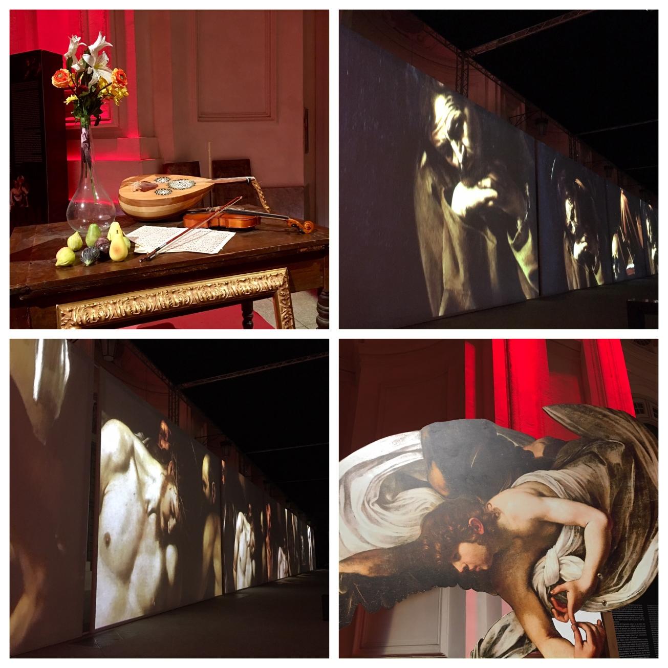 Collage Caravaggio Megan In Sainte Maxime