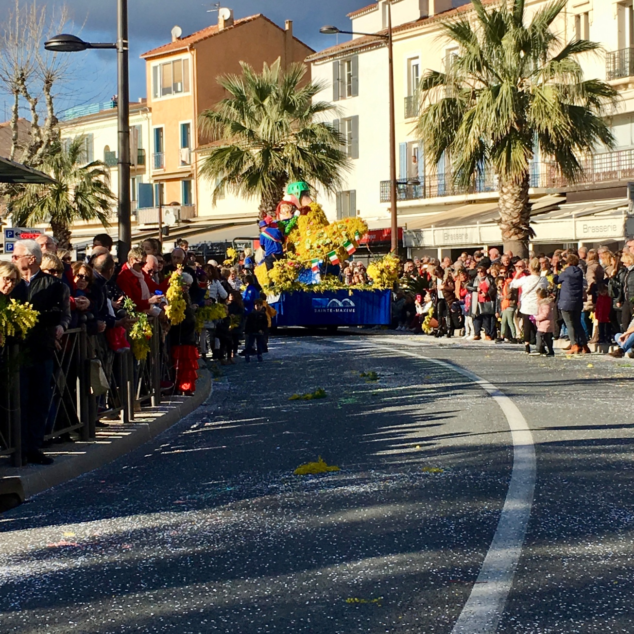 Mimosa Parade 2018 Megan In Sainte Maxime